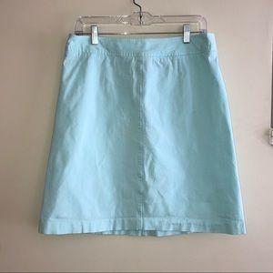 Marina Pastel Blue A-Line Skirt